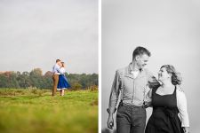 Loveshoot in de herfst in Wageningen