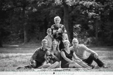 Familieshoot Rotterdam in het Kralingse bos