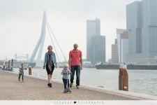 Gezellige gezin fotoshoot Rotterdam