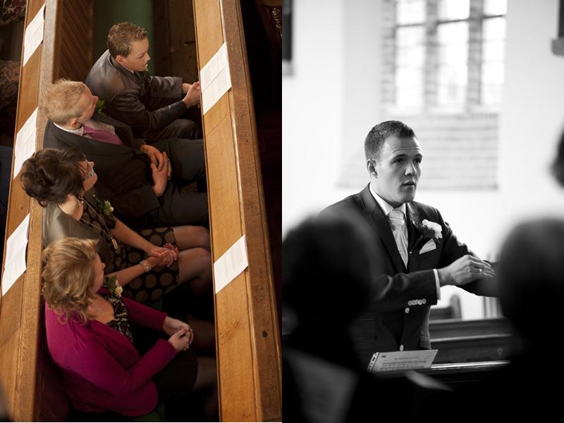 Inzegening kerkdienst Oud Vossemeer