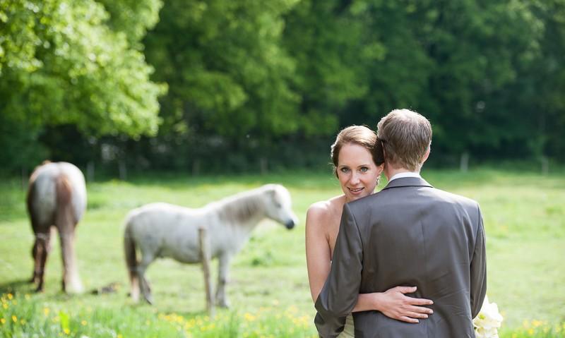 bruidsreportage bij de Angorahoeve in Zundert