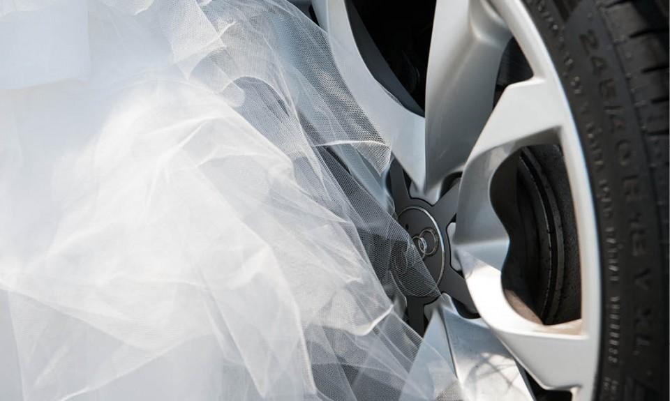 Cymbeline jurk en strakke velgen