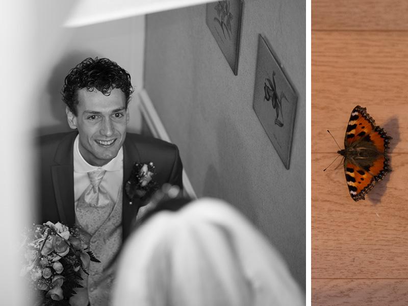 vlinders brengen geluk op je trouwdag