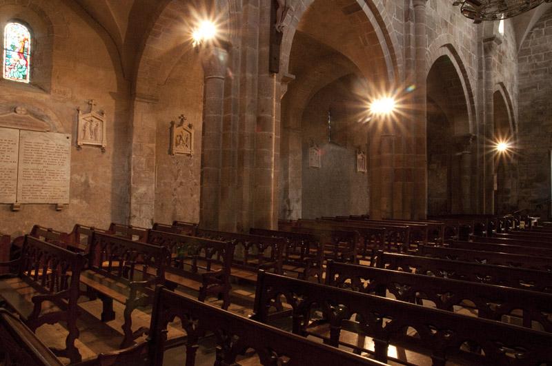 Het kerkje van Issy l'Eveque