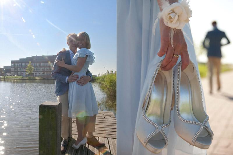 Supercoole trouwschoenen