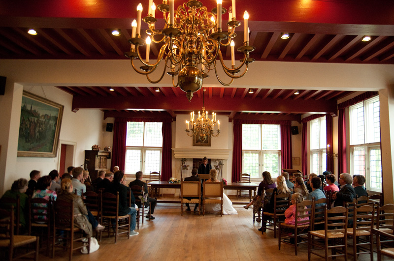 Huwelijksvoltrekking Mauritshuis WIllemstad