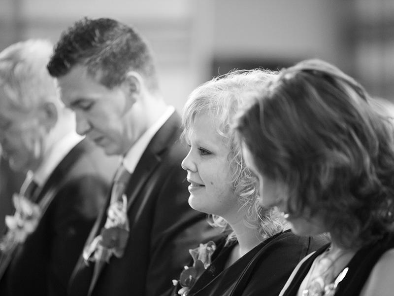 Huwelijksinzegening Sint-Quirinuskerk in Halsteren