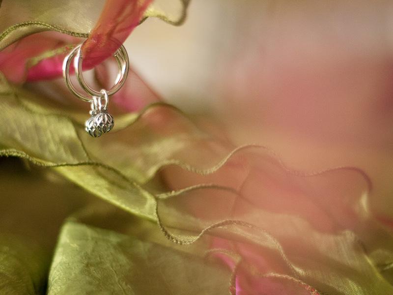 Close-up bruidssieraden