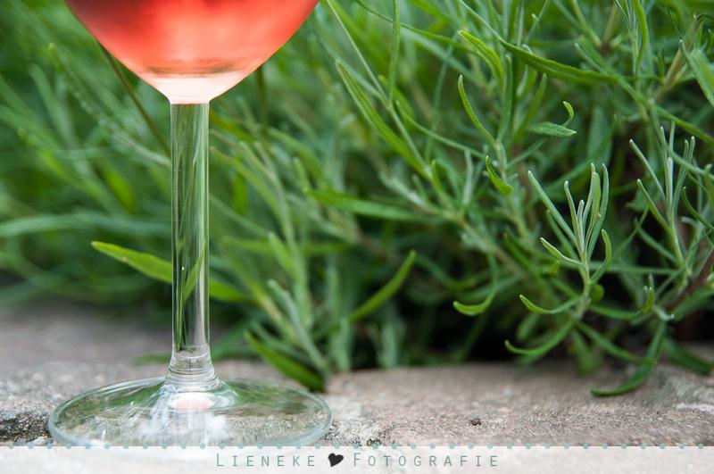 Lavendel en een goed glas wijn