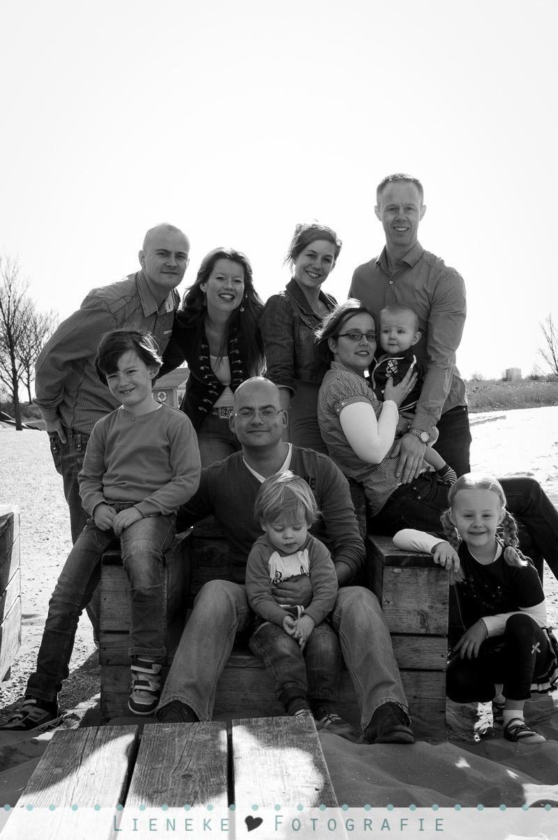 Lifestyle family portrait fotografie
