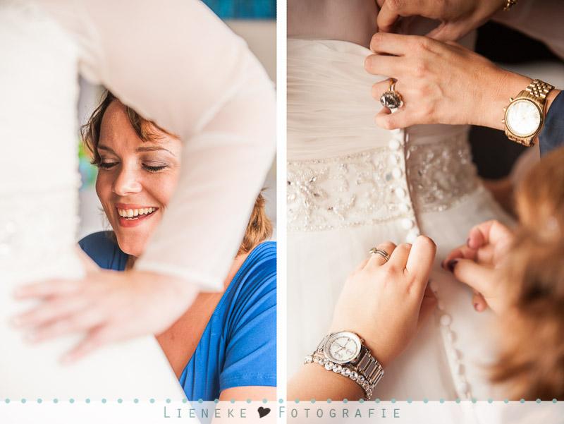 Voorbereidingen bruid Rotterdam