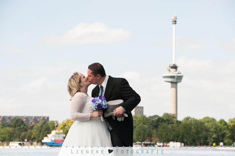 Bruidsfotografie Rotterdam Wilhelminakade