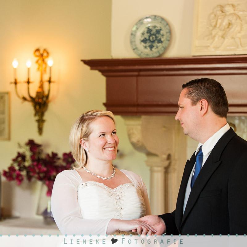 Huwelijksvoltrekking kasteel van Rhoon