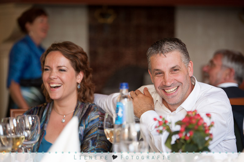 Bruiloft diner kasteel van Rhoon
