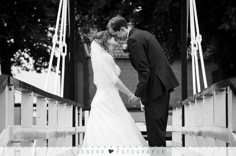 Bruidsfotografie brug
