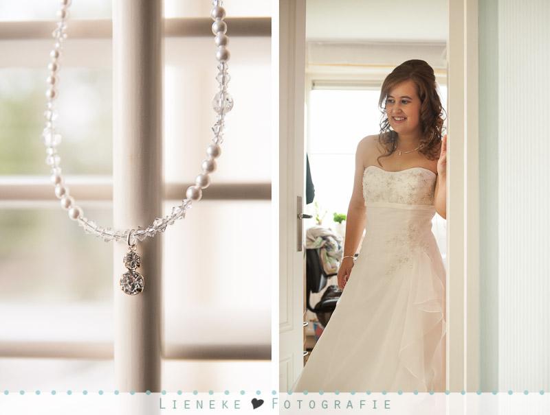 Bruidsfotografie voorbereidingen bruid