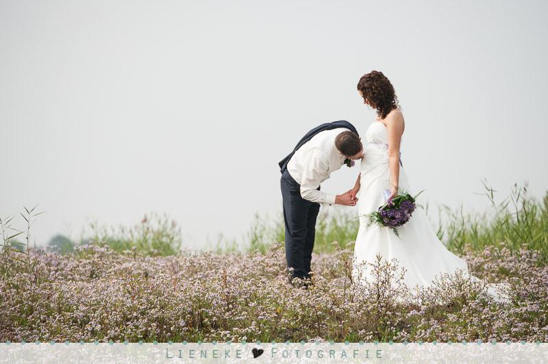 Bruidsfotografie huwelijkreportage zwanger