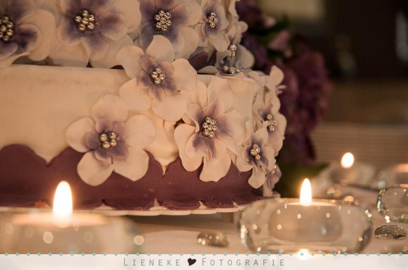 Bruidsfotografie overheerlijke bruidstaart
