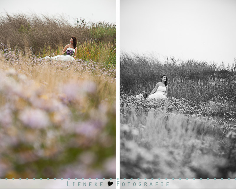 Bruidsfotografie reporage in Bruinisse