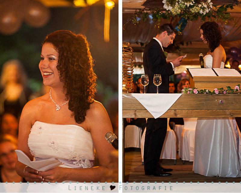 Bruidsfotografie huwelijksvoltrekking bij Natuurlijk Kloof Bergen op Zoom