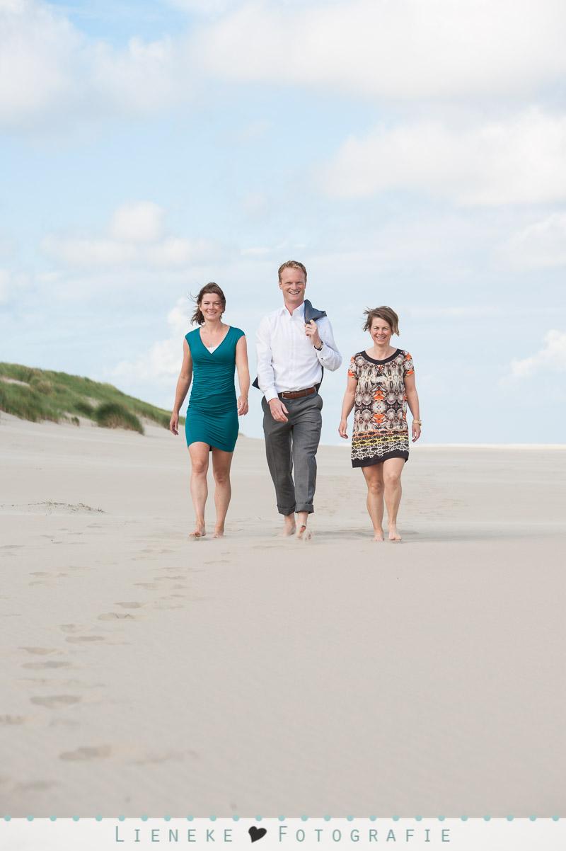 Lifestyle familie fotoshoot strand