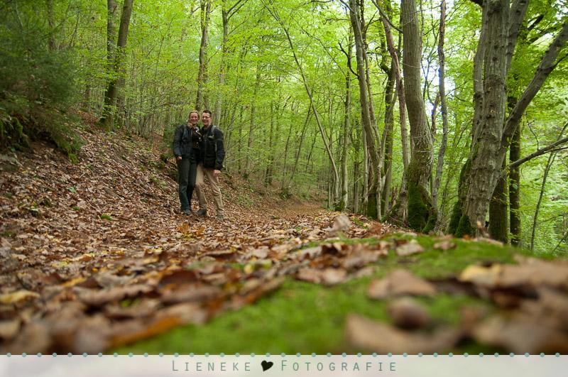 Lieneke en Rob in de Ardennen :-)