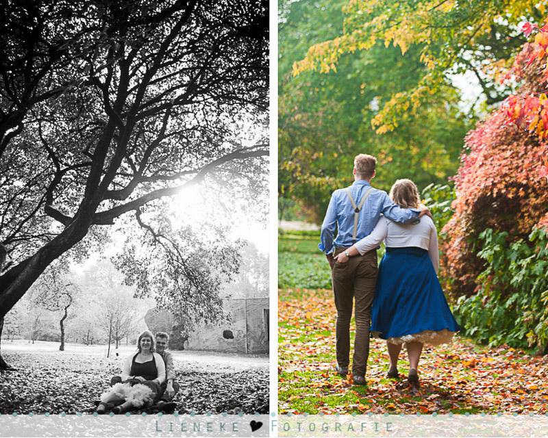 Loveshoot herfst Wageningen Arboretum