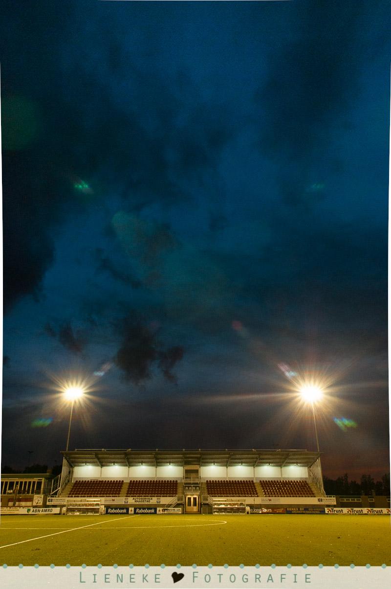 Voetbal by Night Lieneke Fotografie