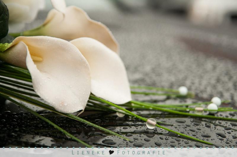 Bruidsboeket zijden bloemen Lokerse