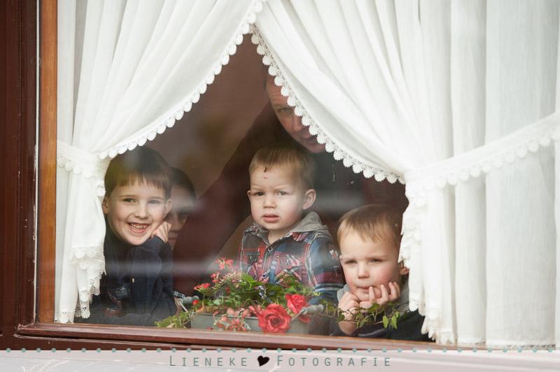 Bruidsfotografie familie