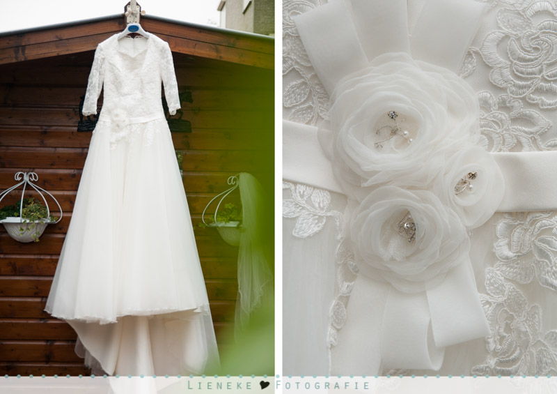 Bruidsfotografie Gorichem bruidsjurk