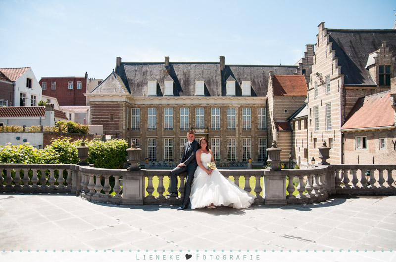 Trouwfoto's Markiezenhof Bergen op Zoom