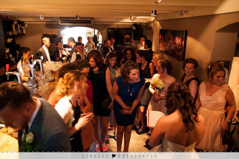 Huwelijksreceptie in de Kelder van de Pastoor Bergen op Zoom