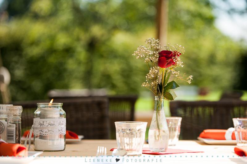 bruiloft Benedensas tuin