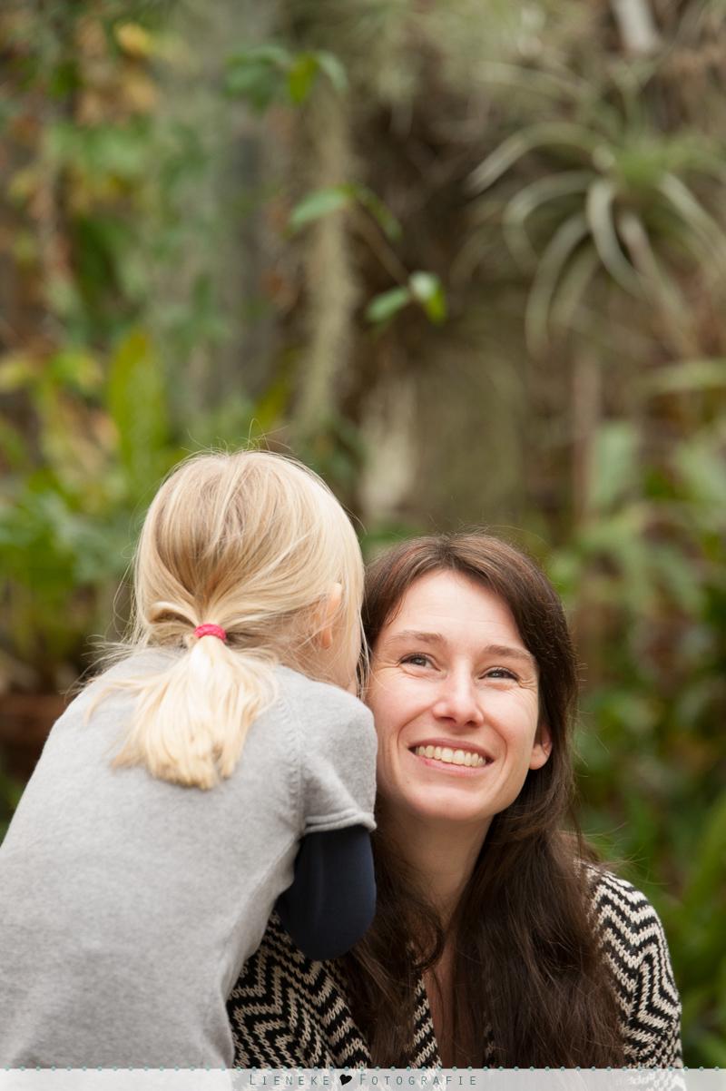 familieshoot botanische tuinen