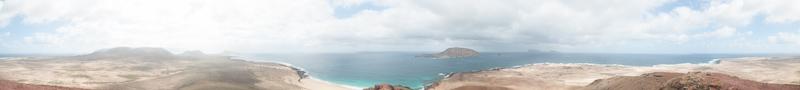 uitzicht vanaf Montaña Bermeja