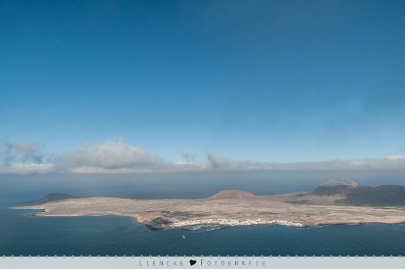 Uitzicht vanaf Mirador del Rio