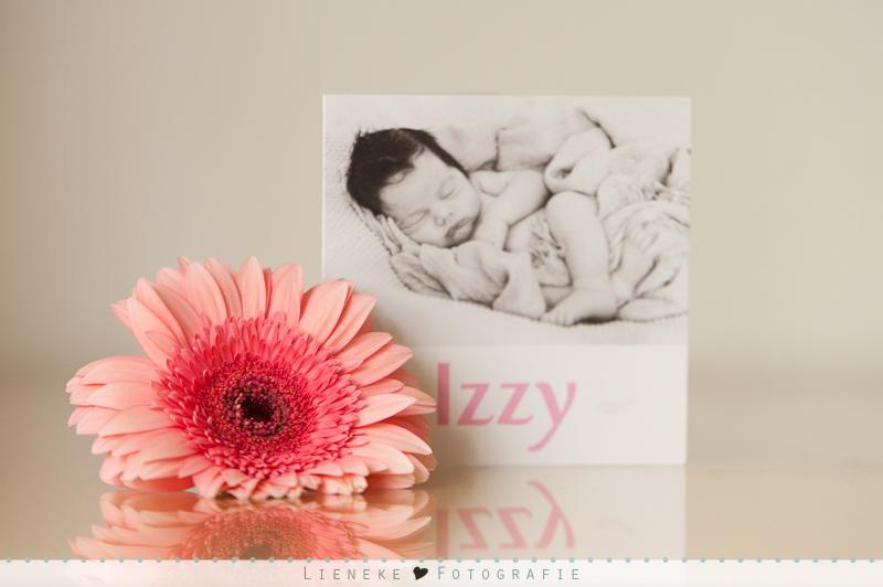 newbornshoot geboortekaartje