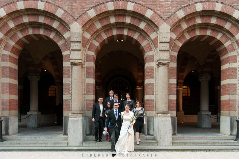 Bruiloft stadhuis Rotterdam