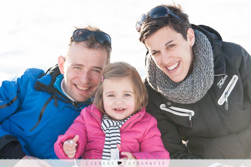 fotoshoot gezin in de winter