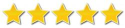 5-sterren beoordeling