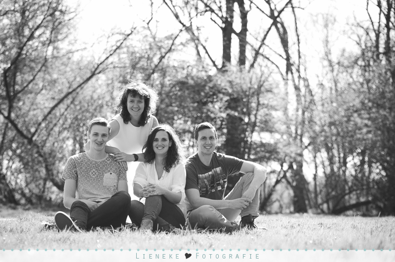 fotoshoot familie Rhoon